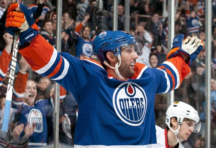 Sam Gagner Scores 8 Points in a Single Game