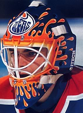 Masked a visual history of ottawa senators goaltending his mask is a great example of how the move toward airbrush paint jobs generated a bunch of designs in the 90s that shouldnt maxwellsz