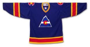 buy popular daa45 f5597 colorado avalanche rockies jersey