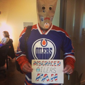 Disgraced Oilers Fan
