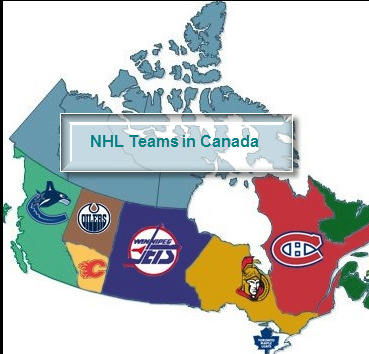 NHL Teams in Canada