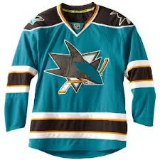 San Jose Sharks Home Jersey
