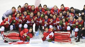 Canada's Women Hockey Gold