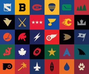 NHL Futuristic Logos