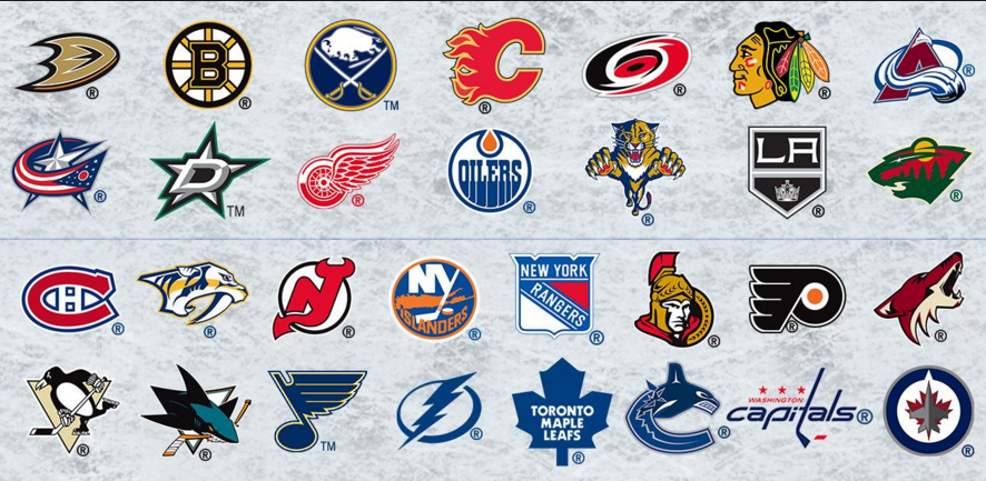 Nhl Logos Top Players