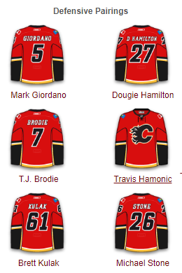 Calgary Flames Defense 2017-18