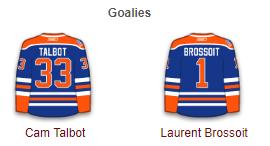 Edmonton Oilers 2017-18 Goalies