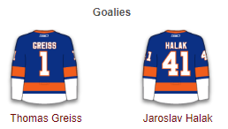 New York Islanders Goalies 2017-18