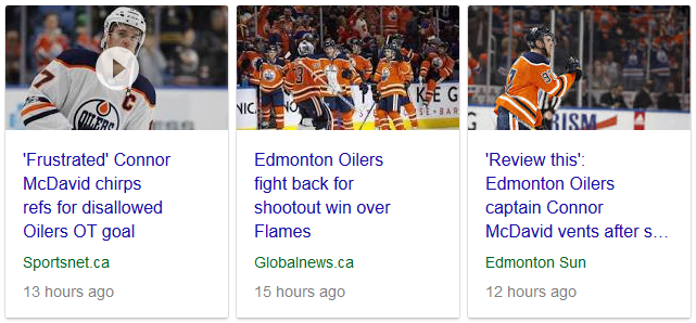 Edmonton Oilers Disallowed Goal News - 01-25-18