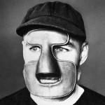 Clint Benedict Goalie Mask