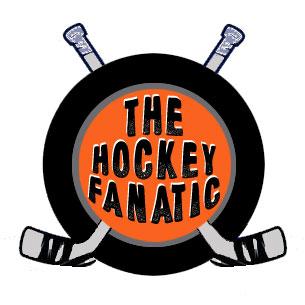 Hockey Fanatic Logo Home Version