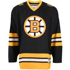 boston-bruins-jersey black