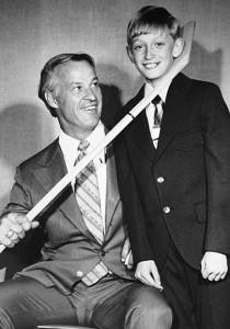 Gordie Howe & Wayne Gretzky