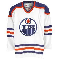 Edmonton Oilers White Jersey