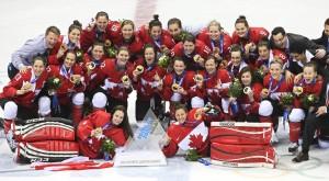 Canada's Women Hockey Gold