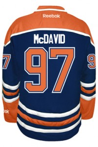 Connor McDavid Edmonton Oilers Jersey