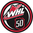 WHL 50th Anniversary Logo