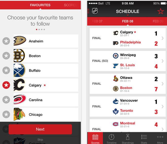 TSN Hockey App
