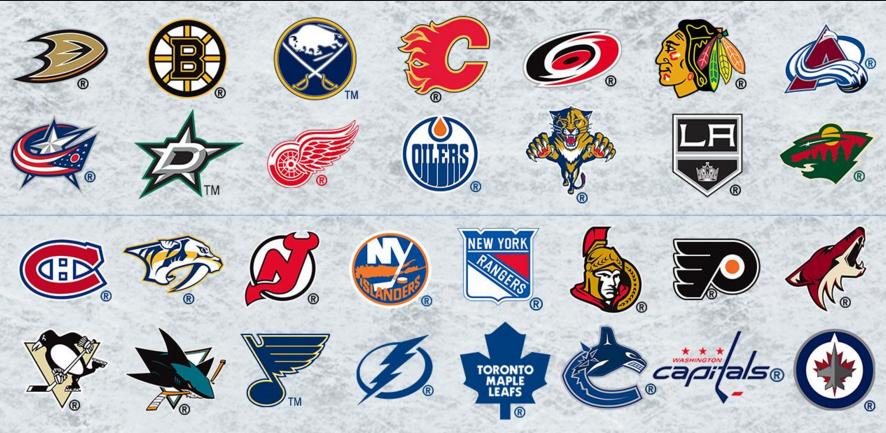 NHL Logos 2016