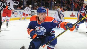 Connor McDavid Rookie Season