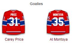 Montreal Canadiens Goalies 2017-18