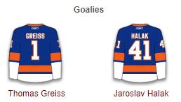 New York Islanders Goalies 2017-18