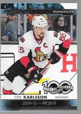 NHL Centennial Standouts Erik Karlsson Card 65