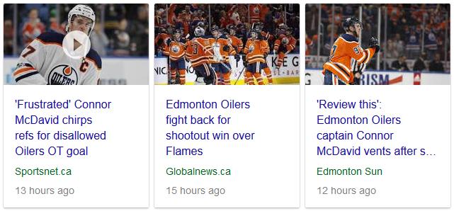 Edmonton Oilers Disallowed Goal News - 01-25-18