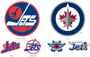 Winnipeg Jets All-Tie Logos