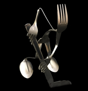 Hockey Player Fork