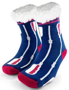 Hockey Themed Slipper Socks