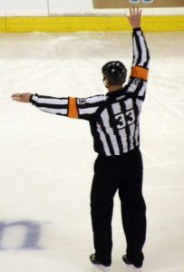 NHL Referee Kevin Pollock