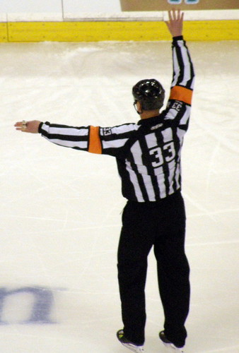 NHL Referee Kevin Pollock